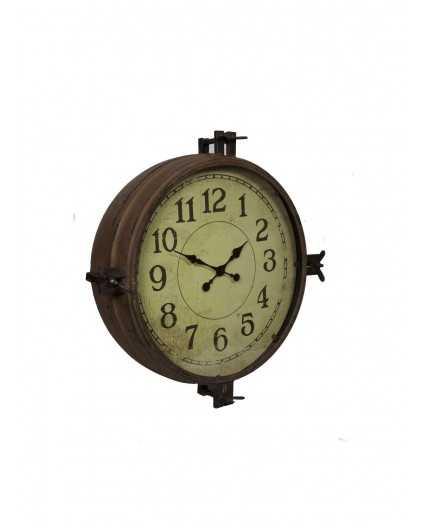 Antic line cr ations objets deco pendule 50 cms couleur antique - Madein meuble ...