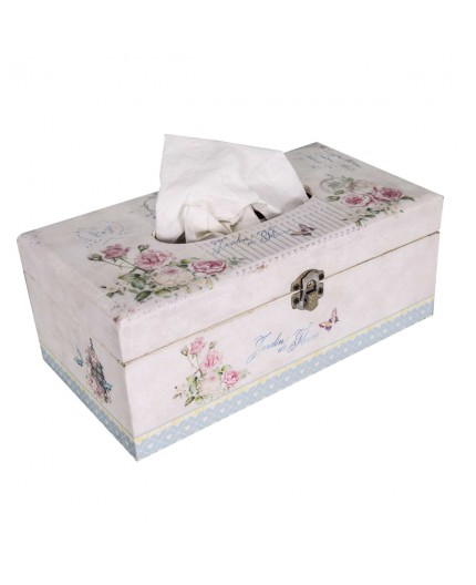 outlet ordre joli design Antic Line créations - Objets deco - Boîte à mouchoirs