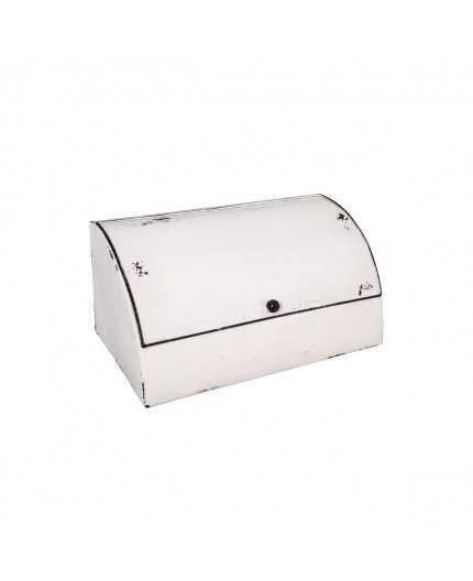 prix super populaire prix bas Antic Line créations - Objets deco - Panière émail blanc