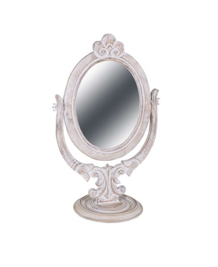 Antic line cr ations objets deco miroir ovale sur pied - Miroir ovale sur pied ...