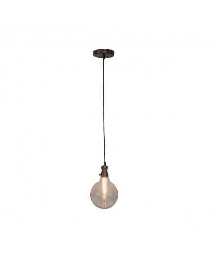 Antic Line Créations Objets Deco Suspension Grosse Ampoule