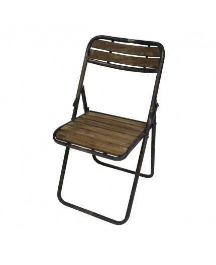 Chaise Fer Et Bois