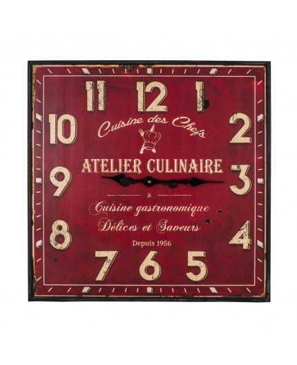Antic Line Creations Objets Deco Pendule Atelier Culinaire